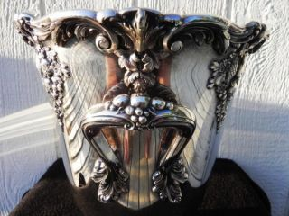 Silver Reed & Barton King Francis Wine Cooler Ice Bucket Centerpiece