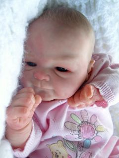 BEAUTIFULL REBORN BABY GIRL DOLL NEWBORN COCO MALU BY ELISA MARX