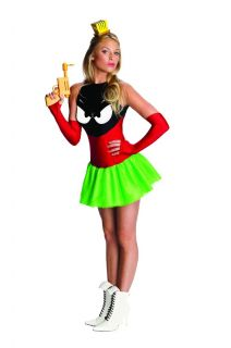 Marvin The Martian Sexy Costume Dress Adult Large 14 16 New