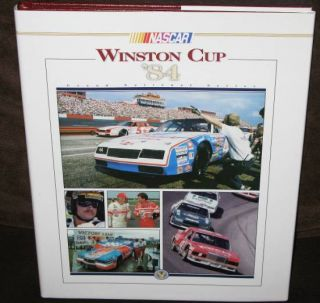 NASCAR Winston Cup Grand National Series Yearbook 1984 HC w DJ Umi