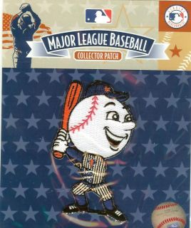 New York Mets Mascot Patch Mr Met 100 Authentic MLB Licensed