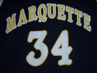 Vtg Nike Basketball Jersey Marquette Dwayne Wade Orlando Magic