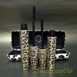 Leopard Case Transplanting Gel Natural Fiber Mascara Set LA729