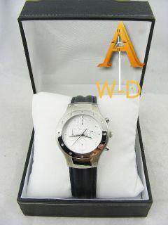 Martell Cognac Chronograph Watch Leather Strap Watch J3B