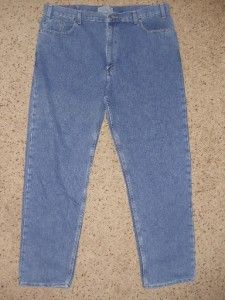 0277 Levi Signature Mens Size 44x32 Blue Straight Leg Jeans Pants