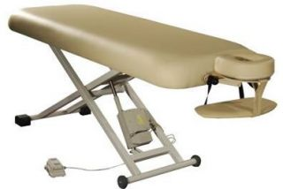 Spa Luxe Electric Massage Table Includes Headrest and Arm Shelf