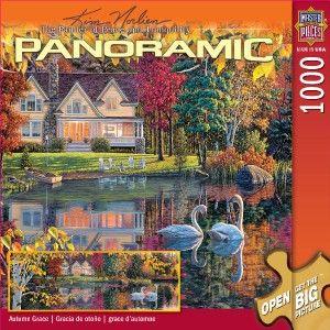 Masterpieces Kim Norlien Autumn Grace Panoramic Jigsaw Puzzle 1000 PC