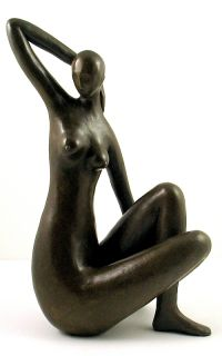 Henri Matisse Tribute Bronze Sculpture Blue Nude