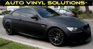3M 1080 Scotchprint Matte Black Car Wrap Vinyl Roll Film ~ 40ft x 5ft