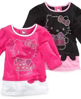 kids shirt little girls chiffon flower tee orig $ 22 50 17 99