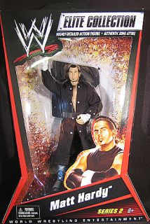 Matt Hardy WWE Elite 2 Mattel Toy Wrestling Action Figure