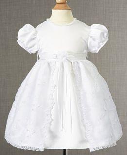 Lauren Madison Baby Dress, Baby Girls Soutache Christening Dress