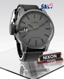 Nixon Chronicle Matte Black/Matte Gunmetal Men Watch