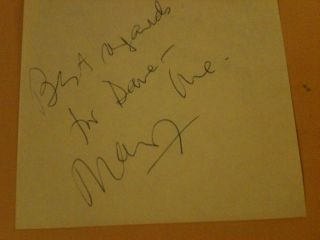 Mary Ure D 1975 Actress Signed Cut Autograph