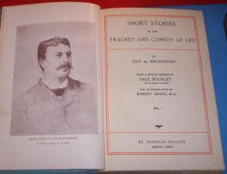 Short Stories Guy Demaupassant de Maupassant 6 Books