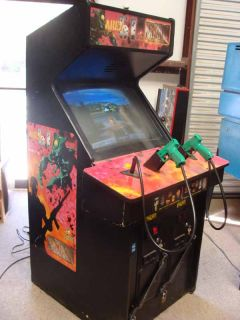 Area 51 Max Force Combo 25 Video Arcade Game Atlanta