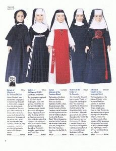 Habits Catalog Copy Blessing Nun Dolls Pics 40 Orders
