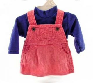 Clothes for American Girl 18 Doll Jumper Set Corduroy Outfit Long