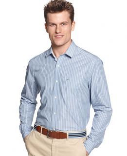 Lacoste Big and Tall Shirt, Stripe Shirt   Mens Casual Shirts