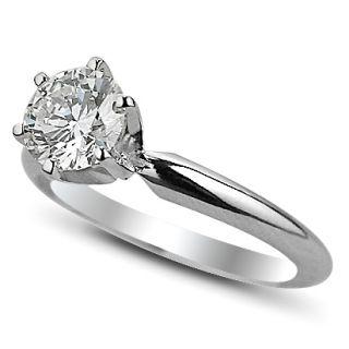 60 Carat Round Diamond Engagement Ring Wedding Ring GIA Certified