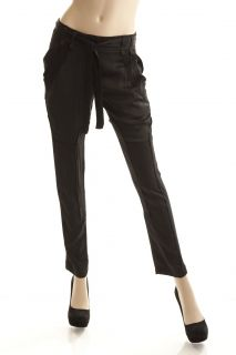 BCBG Max Azria Black Woven Relaxed Jodhpur Pant Size S