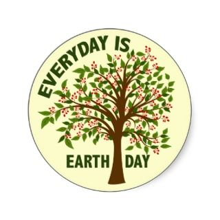 EVERYDAY IS EARTH DAY STICKERS