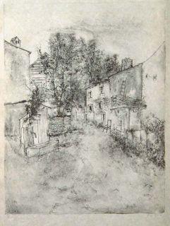 Bernard Gantner Landscape 89 Lithograph s N