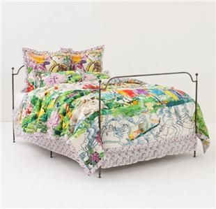 NWT ANTHROPOLOGIE Kaveri Quilt + 4 Shams   Queen