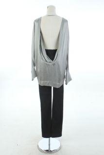 855 Stella McCartney Chic Grey Simple Love Shirt IT42