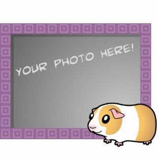 Cartoon Guinea Pig (cream dutch) Photo Cutouts