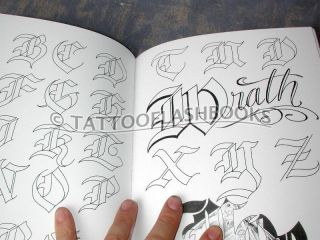 Chicano Script Tattoo Guide Lettering Gangster Book