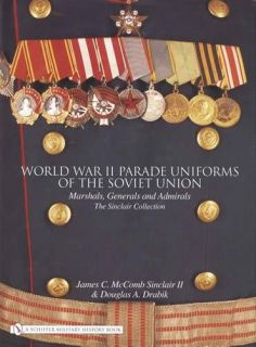 WWII Parade Uniforms of Soviet Union Military Officers   Reference