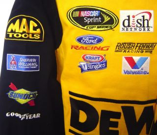 Matt Kenseth NASCAR Racing Jacket Dewalt 17 Mac Tools