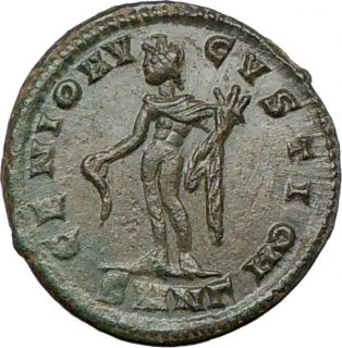 Maximinus II Daia 310AD Certified Ancient Roman Coin
