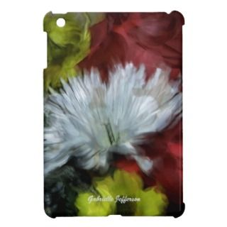 Personalized Floral iPad Mini Case