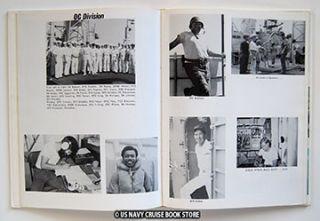 USS McCaffery DD 860 Westpac Vietnam Cruise Book 1972 1973