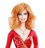 2011 Reba McEntire Barbie Titan Red Hair Sexy Dress