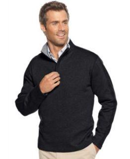 Tasso Elba Sweater, Heavyweight 1/4 Zip Sweater