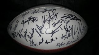 2012 Texas A M Aggies Team Signed Football Certificate Proof