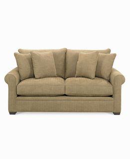 Microfiber Apartment Sofa, 76W x 42D x 37H   furniture