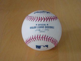 Kevin Youkilis White Sox Autographed Signed Rawlings OMLB Baseball COA