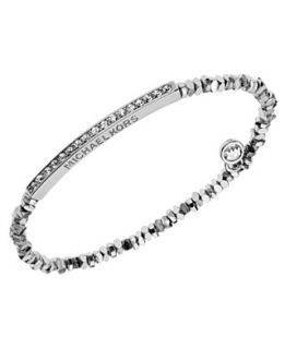 michael kors bracelet gold tone bead fireball stretch bracelet $ 85 00