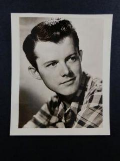 Actor Photograph Lon McCallister Black White 4 1 2 x 4