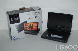 Broken Sony DVP FX970 Portable Media DVD Player 9 LCD as Is