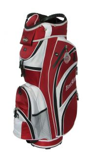 New Tour Edge Golf Max D Performance Cart Bag Dark Red White