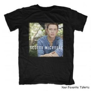 Officially Licensed Scotty McCreery Album Cover Adult Shirt s XXL