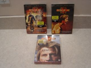 Rescue Me TV Series Seasons Three Four Six DVD Complete Boxed Sets New