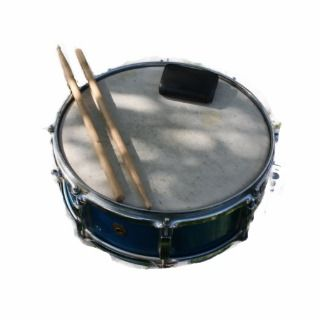 Blue Snare Drum Drumsticks and Muffler Acrylic Cut Outs