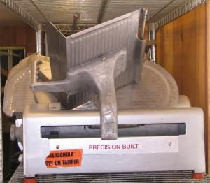 Fleetwood Commercial Meat Slicer, Model 612A, Deli, Restaurant, Cheese