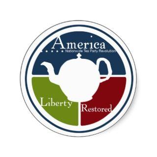 Nationwide Tea Party Revolution sticker